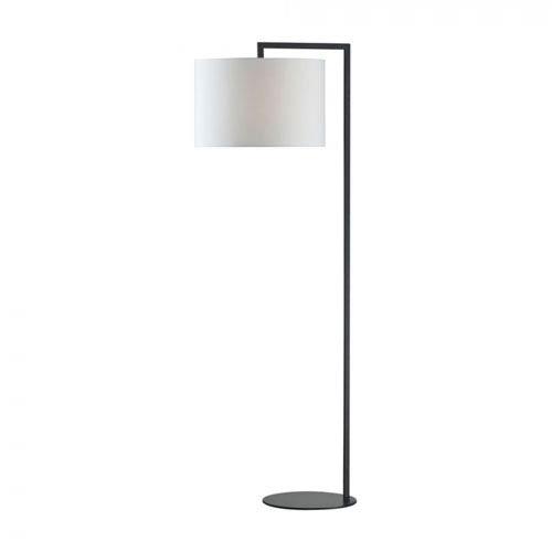 Uptown Black One-Light Floor Lamp