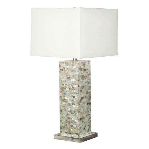 Nicollet Mother of Pearl One-Light Table Lamp