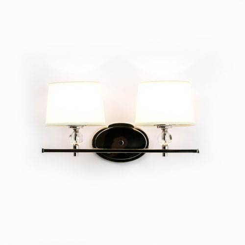 Isles Polished Nickel Two-Light Bath Sconce