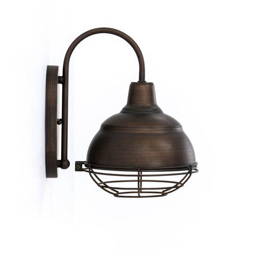 River Station Natural Industrial Kitchen Cart 251 First: 251 First River Station Rubbed Bronze One Light Bath