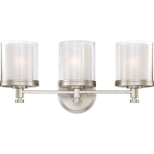 251 First Selby Brushed Nickel Three-Light Bath Sconce