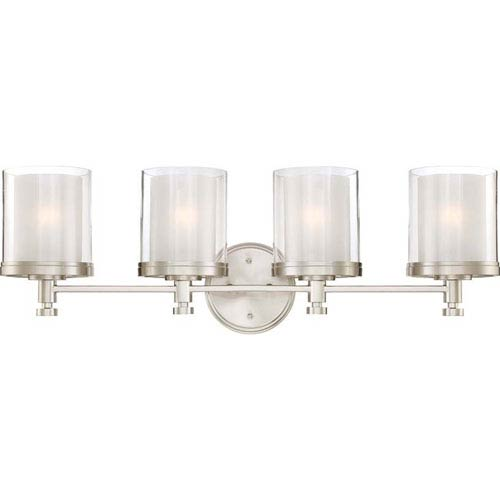nickel light fixtures antique nickel selby brushed nickel fourlight bath sconce lighting vanity lights bathroom sconces bellacor
