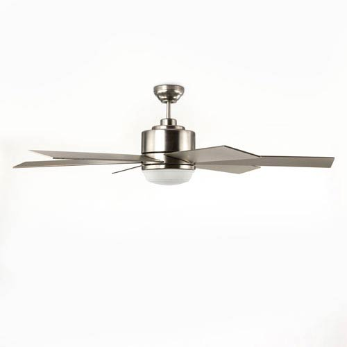 Selby Brushed Nickel One-Light Fan