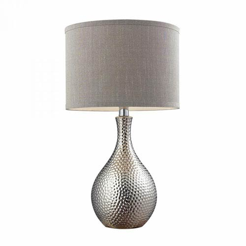 Selby Chrome One-Light Table Lamp