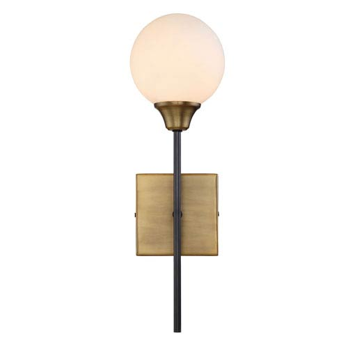 Nicollet Oiled Rubbed Bronze 19-Inch One-Light Wall Sconce
