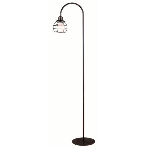 Afton Oil Rubbed Bronze One-Light Floor Lamp