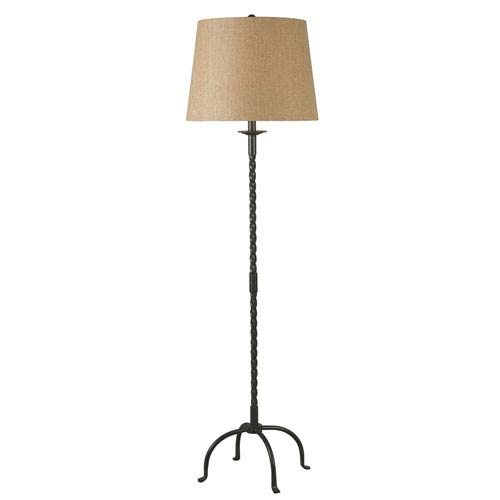251 First Quinn Bronze One-Light Floor Lamp