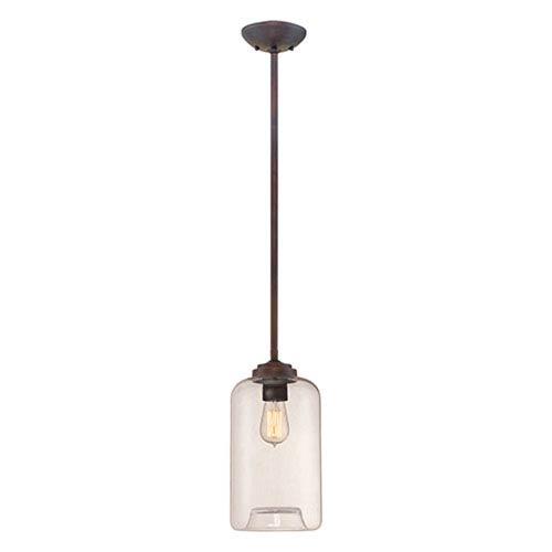 Kenwood Rubbed Bronze One-Light Mini Pendant