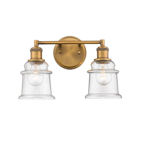 Knox Bronze Two-Light Bath Vanity