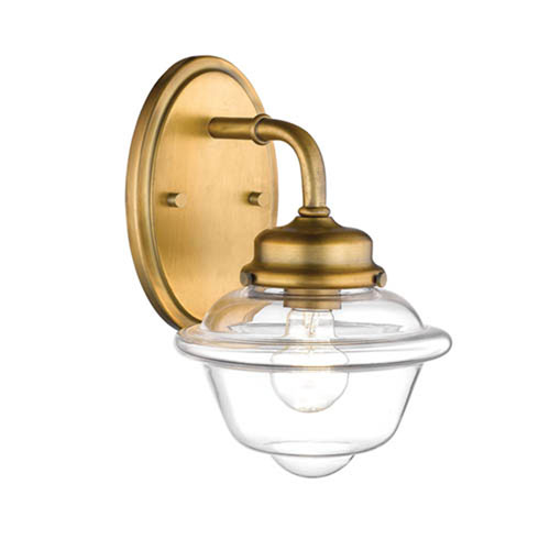 Fulton Bronze One-Light Wall Sconce