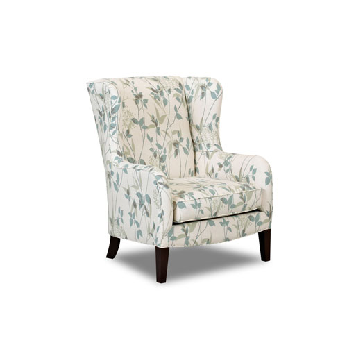 251 First Grace White Accent Chair