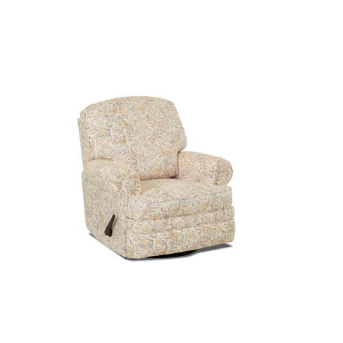 251 First Grace Swivel Gliding Reclining Chair, Daisy