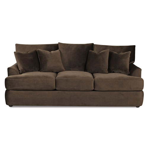 251 First Fulton Brown Sofa