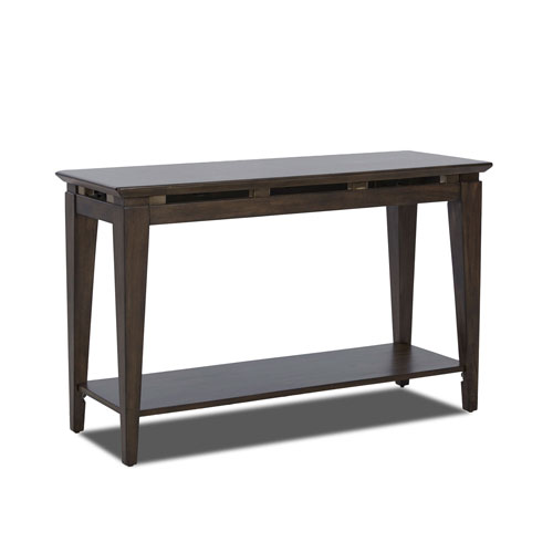 251 First Monroe Brown Sofa Table