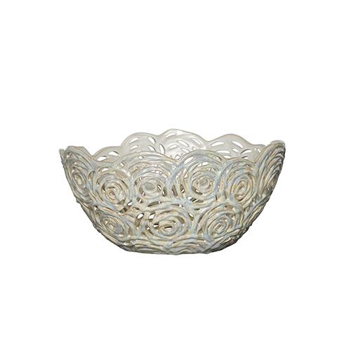 Moonshine Cream Decorative Bowl