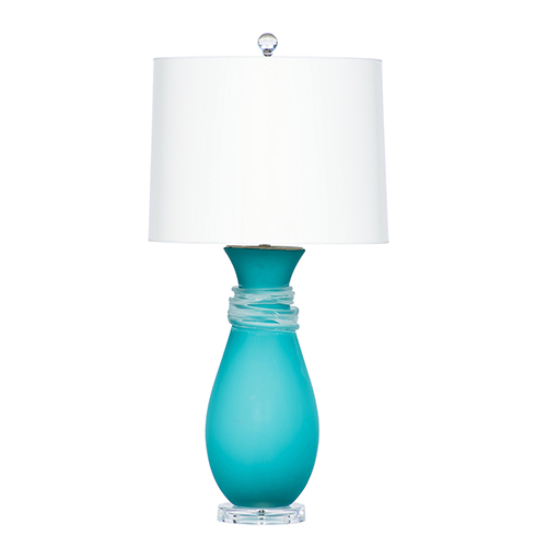 Requiem Blue One-Light Table Lamp