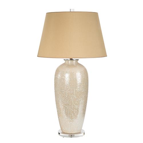 Bradburn Gallery Savoir Faire Cream One-Light Table Lamp