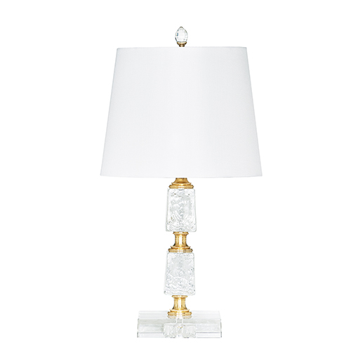 Petit Eau Claire Gold One-Light Table Lamp