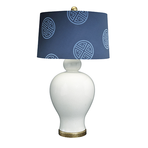 Pacific Realm Cream One-Light Table Lamp