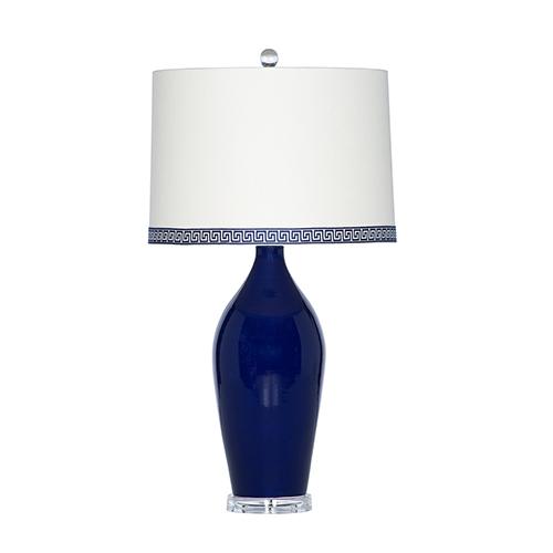Casa Palermo Navy One-Light Table Lamp