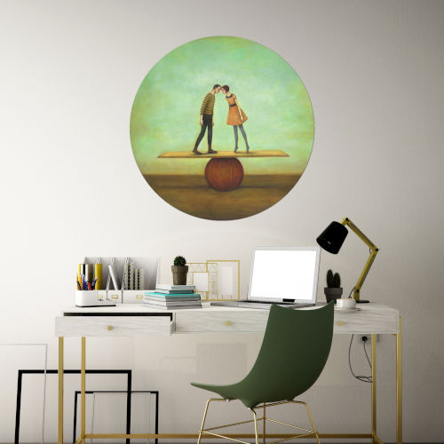 Find Equilibrium 30 x 30 Inch Circle Wall Decal
