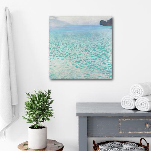 Crashing Ashore Gallery Wrapped Canvas