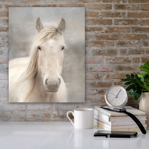 White Beauty I Gallery Wrapped Canvas