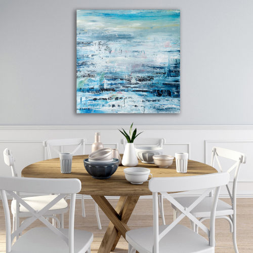 The Sea Gallery Wrapped Canvas