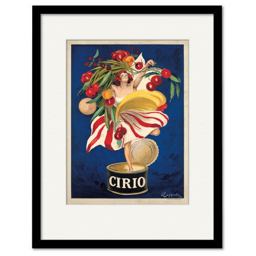 Multicolor Cirio Framed Wall Art