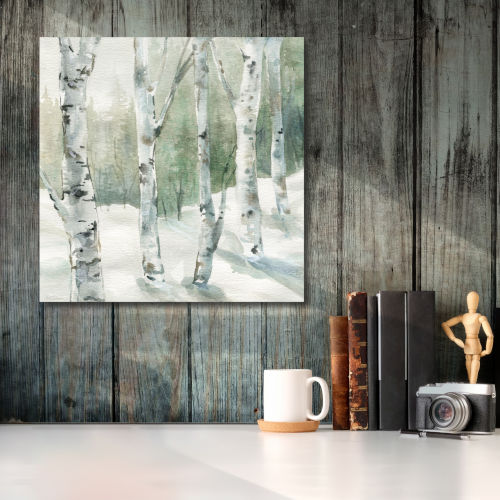 Winter Wonderland I Gallery Wrapped Canvas