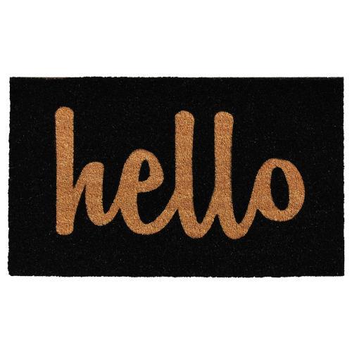 Script Hello 30 x 48 Inch Doormat