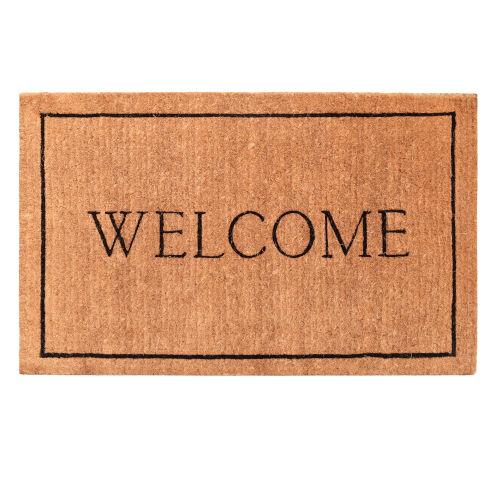 Welcome Border 30 x 48 Inch Doormat