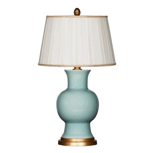 Juliette Celadon Couture Ceramic Table Lamp