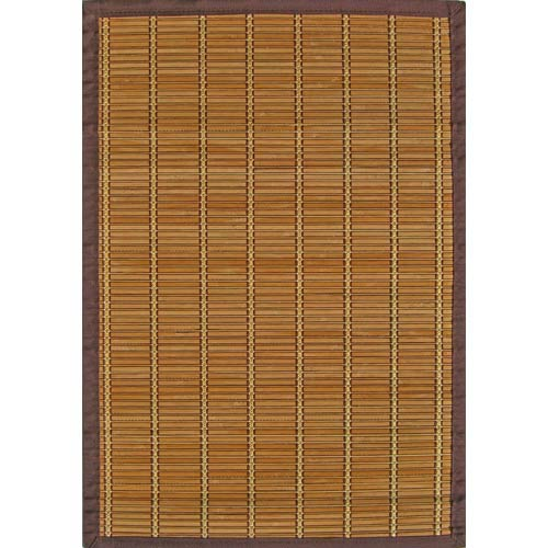 Anji Mountain Bamboo Rugs Pearl River Rectangular: 5 Ft. x 8 Ft. Rug