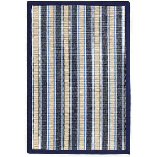 Anji Mountain Bamboo Rugs Hamptons Surf Bamboo Rectangular: 4 Ft. x 6 Ft. Area Rug