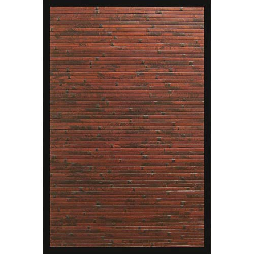 Cobblestone Red Rectangular: 5 Ft. x 8 Ft. Rug