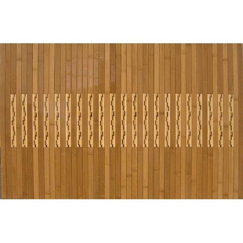 High Gloss Bamboo Kitchen and Bath Runner: 20 Inch x 32 Inch