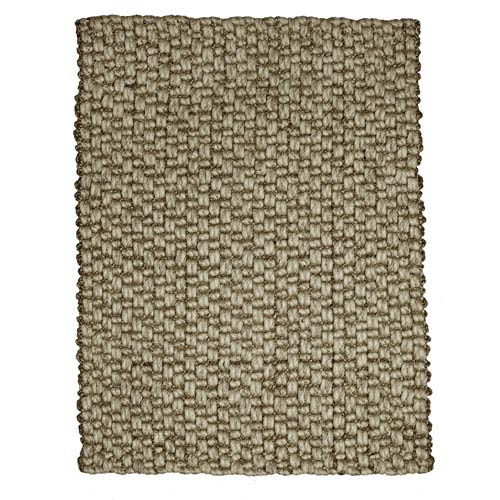 Anji Mountain Bamboo Rugs Mumbai Jute and Wool Rectangular: 5 Ft. x 8 Ft. Rug
