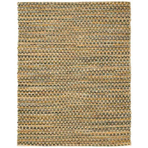 Anji Mountain Bamboo Rugs Ilana Jute and Chenille Cotton Rectangular: 4 Ft. x 6 Ft. Area Rug