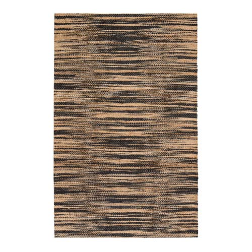 Xanthippe Gold and Gray Rectangular: 4 Ft. x 6 Ft. Area Rug