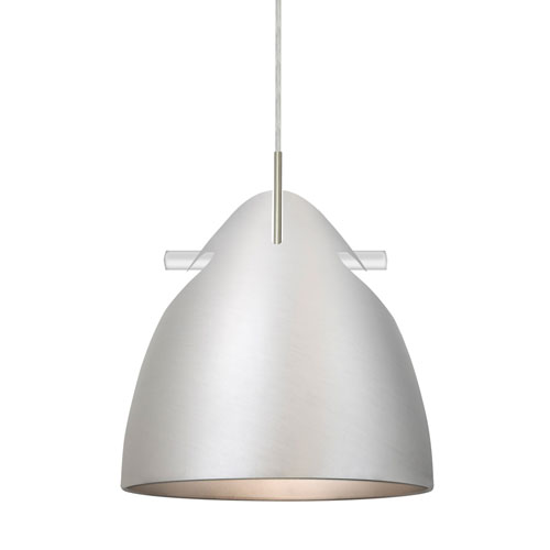 Tune Satin Nickel One-Light Pendant