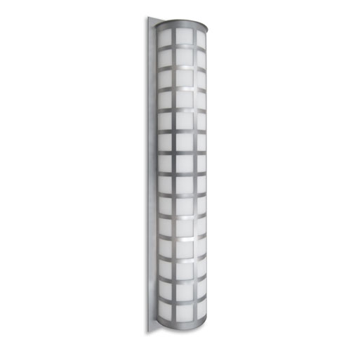 Scala Silver Three-Light Outdoor Sconce
