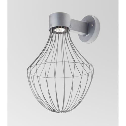 Sultana Silver One-Light LED Wall Sconce