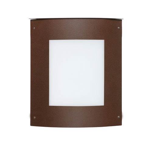 Besa Lighting Series 107 Slim Bronze Outdoor Wall Mount