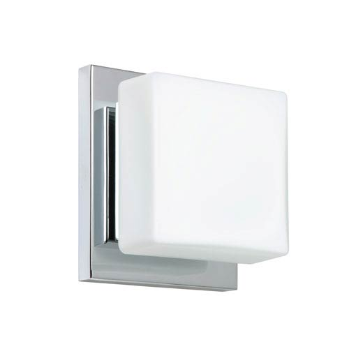 Square Shade Vanity Lights Bellacor - Square bathroom sconce