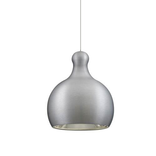 Felix Satin Nickel One-Light LED Fixed-Connect Mini Pendant