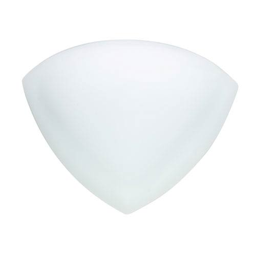 Cirrus Opal Matte One-Light LED Outdoor Wall Sconce