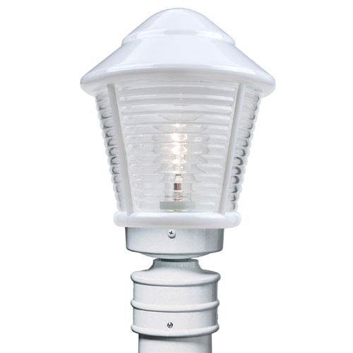White outdoor post lighting bellacor costaluz 3100 series aluminum incandescent outdoor post light with white glass aloadofball Choice Image