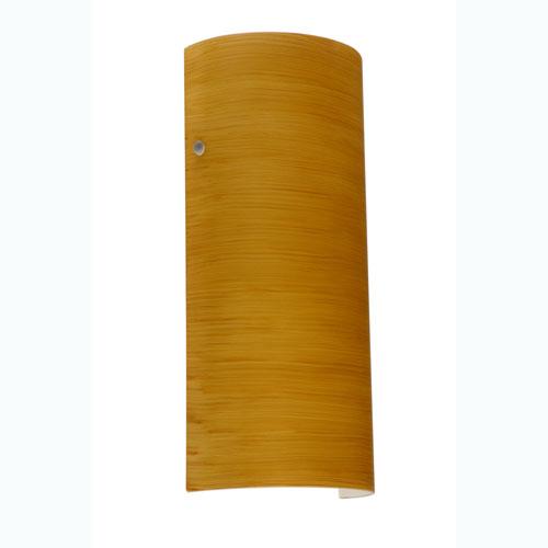 Series 8192 Oak Glass Wall Sconce