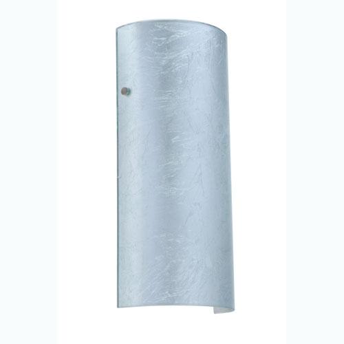 Besa Lighting Torre Silver Foil Satin Nickel Sconce